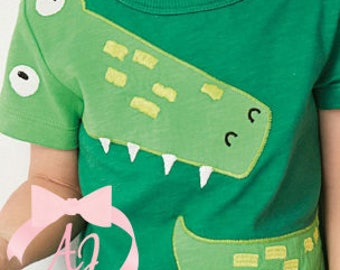 Alligator Applique Shirt