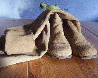 Shoes-women shoes-suede boots-leather-leather shoes-41/Like new!