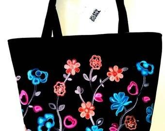 Elegant flower bag