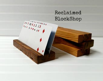 Playing card holder   Etsy