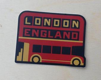 London England Travel Sticker