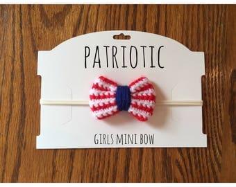 Patriotic Mini Bow