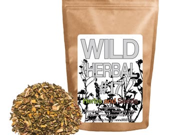 Wild Herbal #17 Herbs and Seeds - 5 Ingredient Blend (4 ounce)