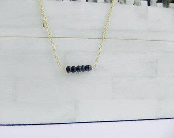 14K Gold Filled Chain. Beads. Necklace. Jewelry. Custom. Present. Gift.