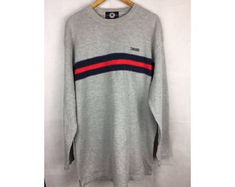 CONVERSE Long Sleeve Sweatshirt Size 4L Nice Design