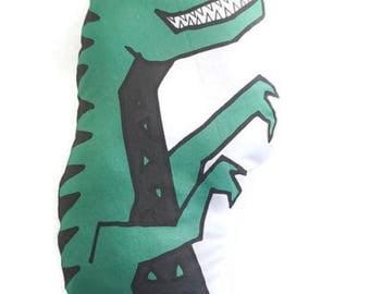 Dino pillow|Boy|Boy Nursery|Pillow|boy Pillow|Plush toy|Minky|Stuffed toy|Dinosaur Decor|