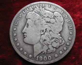 1900-O Morgan Silver Dollar, BETTER  GRADE Original Coin!