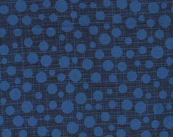 Hash Dot from the Safari Friends Collection in Navy by Michael Miller Fabrics