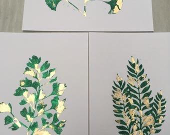 Gold Nature Print