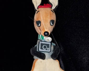 Rare 60's Dream Pets #248 Flash Fox By R. Dakin