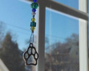Pet Paw Suncatcher