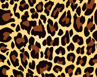 Leopard/printed vinyl/HTV/vinyl/651/oracal/adhesive/blanks/small business/heat transfer/