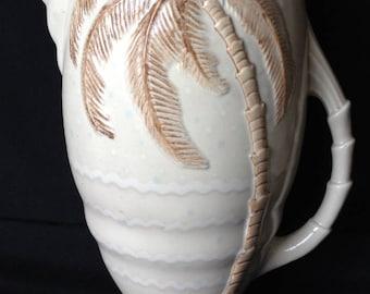 Large Beswick Palm Tree Jug #1067