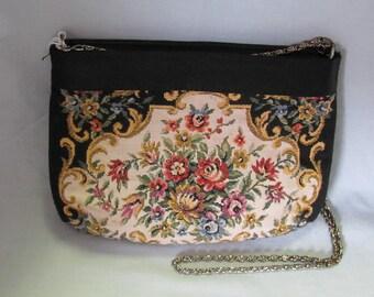 50's Vintage Tapestry Purse MAUI