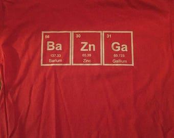 Ba Zn Ga Shirt (Black Shirt unless stated in notes)
