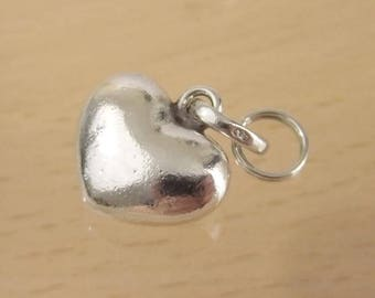 Authentic Links of London Sterling Silver Plain Love Heart Sweetie Charm