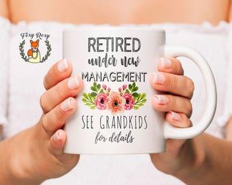 Grandma mug   Retirement Gift For Grandma   Retirement Gifts   Retirement Coffee Mug   Retirement Gift Ideas   Retirement Mug   CM-119