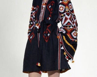 Fashion embroidered dress !