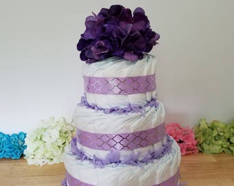 Diaper Cake Tier Curve- Customizable
