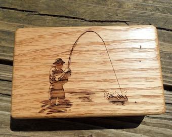 Fly Box - Fly Fishing Storage Box - Laser Engraved - Fly Fishing Box