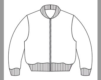 Patron Bomber Jacket Pattern