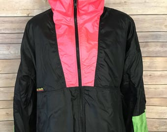 Vintage Columbia Radial Sleeve Intertrainer Two Layer Jacket (L)