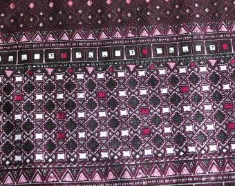 Bohemian Gypsy Fabric, Fabric by yard, Geometric Design