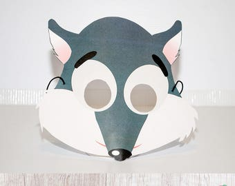 Red Riding Hood Party Wold Mask, Forest Animals