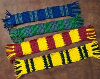Crochet Harry Potter Bookmarks