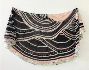 Key of Life Pink Shawl / Wrap / Scarf
