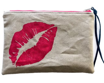 Her Lips Mini Clutch