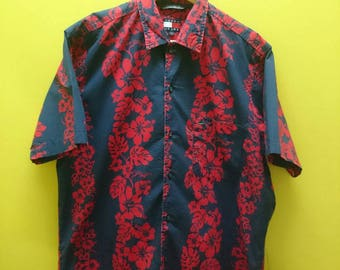 Vintage TOMMY HILFIGER Button Down Floral Shirt