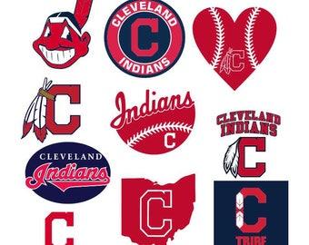 baseball svg,cleveland indians svg,mom life,svg,png,eps,dxf,logo,team,family,cricut,silhouette,life,proud,university,collegiate,MLB,love