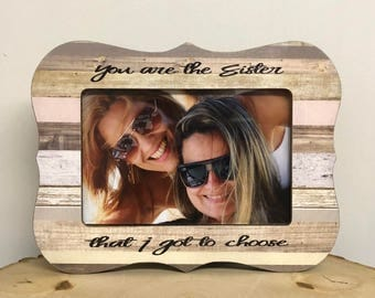 Friend frame, personalized frame, friend gift, soul sister frame, best friend frame, personalized friend, friends frame
