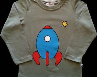 Long sleeve Rocket t-shirt