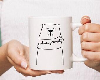 Bear love Ceramic Mug Gift Coffee Mug Personalised Tea Cup