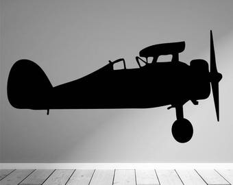 Airplane Silhouette Etsy