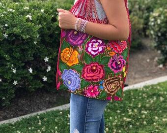 Mexican Hand Woven Purse / Boho / Etnic