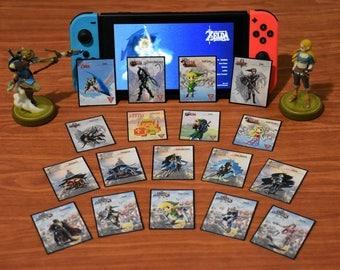MINI Custom Zelda Amiibo NFC Tag Card Set (18) SSB, 30th, BotW