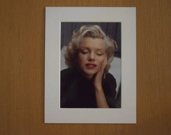 "Marilyn Monroe (1953) by Alfred Eisenstaedt. 7"" x 9"" Print in Picture Mount."