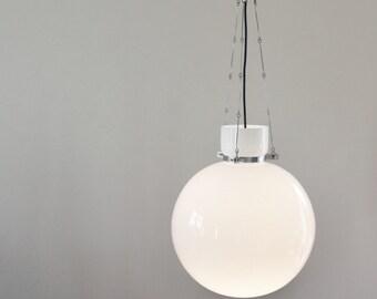 1970 Limburg BAUHAUS ART DECO style pendant lamp / suspension