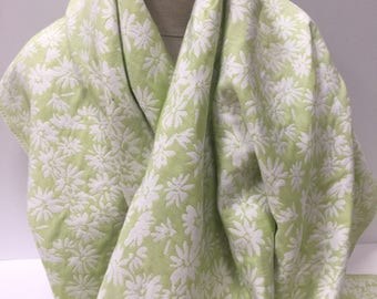 Lime Green Reversible Brocade - Sold by the Yard