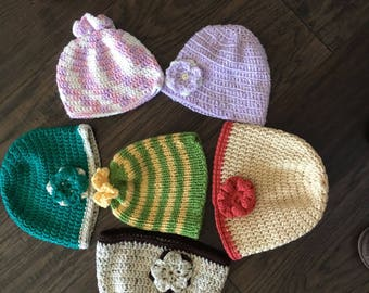 Cute and Cozy Crocheted Hat