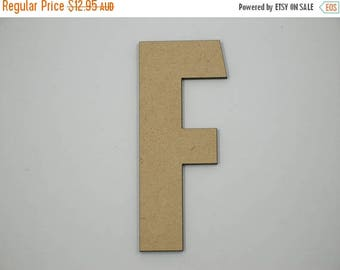 20% OFF 30cm MDF Wood Wooden Letters 3mm Thick CAP
