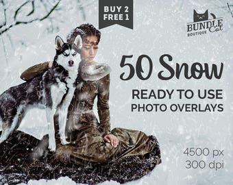 50 Falling Snow Photo Overlays. Christmas overlays, Wedding overlays, Digital snow, Snow overlays, Winter overlays, Falling snow overlay