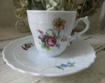 Cup and saucer - Richard Ginori