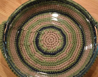 Country Kitchen Crochet Pie holder