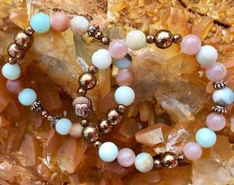 Mala Bracelet Meditation Bracelet Gift For Her