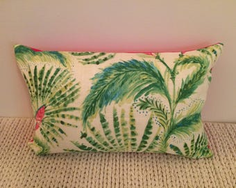 12 x 18 inch Tropical Pillow Cover