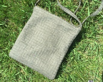 HANDMADE shoulder  Bag // Olive Green Rayon Bag // Urban Bag //  Travel Bag